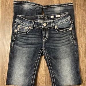 Miss Me EUC Ladies Signature Boot Jeans